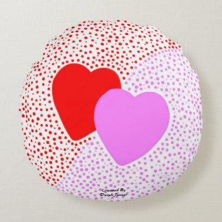 Travesseiro decorativo redondo da surpresa do almofada redonda
