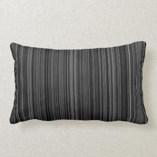 Travesseiro decorativo retro branco preto da almofada lombar