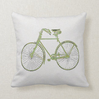 travesseiro decorativo verde branco legal da almofada