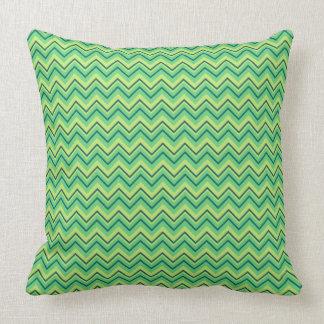 Travesseiro decorativo verde-claro almofada