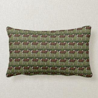 Travesseiro do design do cavalo almofada lombar