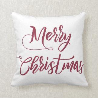 Travesseiro do Feliz Natal Almofada