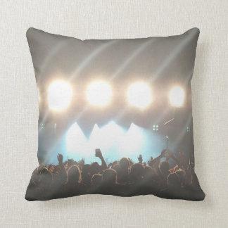 Travesseiro do grupo de rock almofada