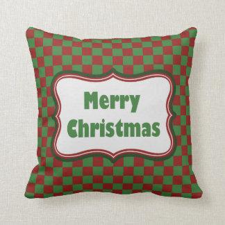 Travesseiro do Natal do feriado do Feliz Natal Almofada