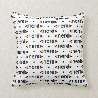 Almofadas nerds na Zazzle