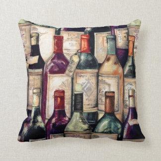 Travesseiro dos amantes de vinho almofada