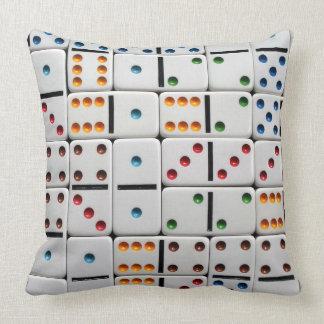 Travesseiro dos dominós almofada