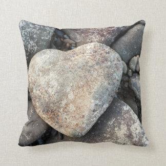 travesseiro exterior ou interno do coração da almofada