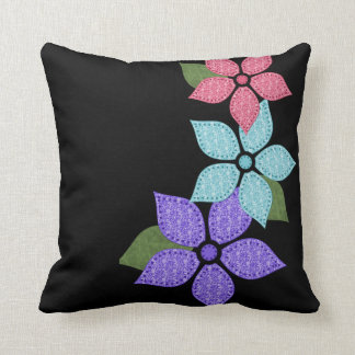 Travesseiro floral da flor almofada