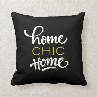 """Travesseiro """"Home"""" chique Home"""