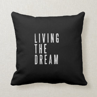 Travesseiro inspirador da decoração da sala de almofada