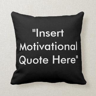 Travesseiro inspirador das citações