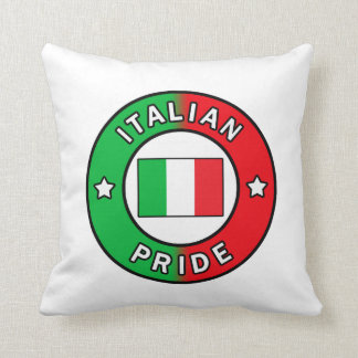 Travesseiro italiano do orgulho almofada