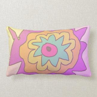 Travesseiro lombar da flor parva almofada lombar
