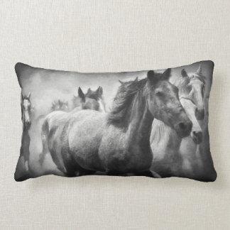 Travesseiro lombar do debandada do cavalo almofada lombar
