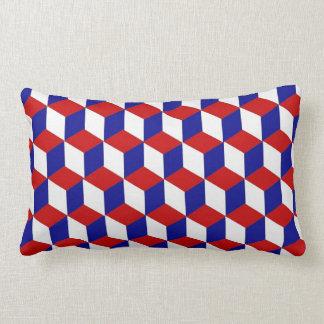 Travesseiro (lombar) - obstrua a ilusão vermelha, almofada lombar