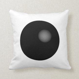 +Travesseiro mínimo preto e branco da esfera+ Travesseiro De Decoração