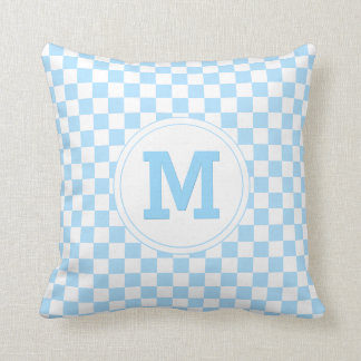 Travesseiro personalizado monograma do teste almofada