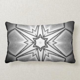Travesseiro preto e branco original do design