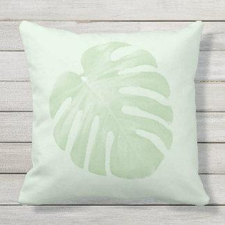 Travesseiro tropical verde almofada para ambientes externos