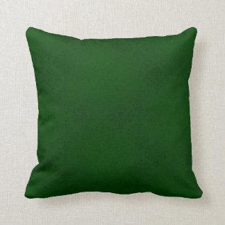 Travesseiro verde do damasco almofada