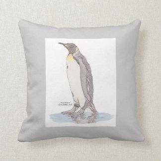 Travesseiros do rei pinguim almofada