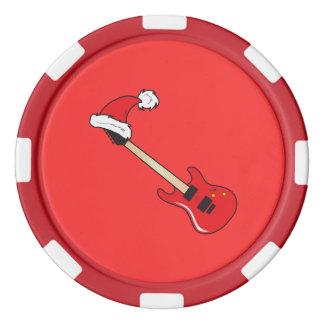 Travesseiros vermelhos bonitos do pulso de disparo ficha de poquer