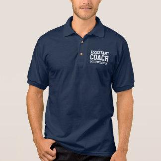 Treinador assistente personalizado II Camisa Polo