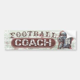 Treinador de futebol Bumpersticker Adesivo Para Carro