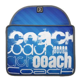 Treinador; Listras de azuis marinhos Bolsas Para MacBook