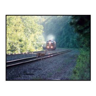Trem de carro do escritório de Conrail - OCS 8/22/ Cartão Postal