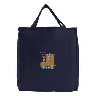 Trem do pão-de-espécie bolsas