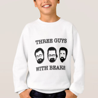 Três caras com miçanga tshirts