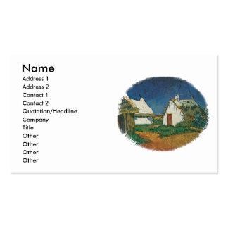 Três casas de campo no Saintes-Maries-de-la-Mer Cartões De Visita