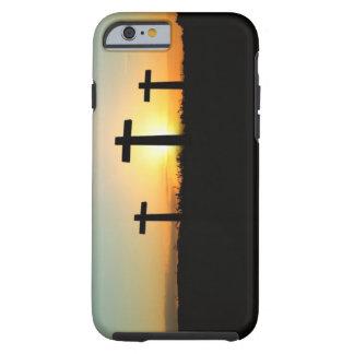 Três cruzes capa tough para iPhone 6