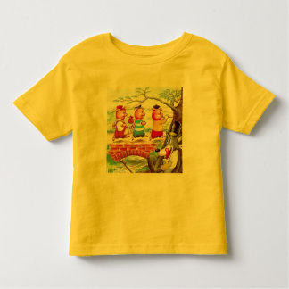 Três porcos pequenos tshirts