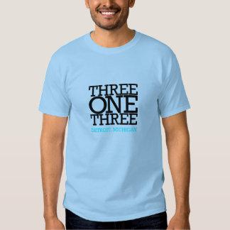 Três um três tshirt