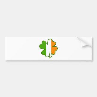 Trevo da bandeira de Ireland Adesivo Para Carro