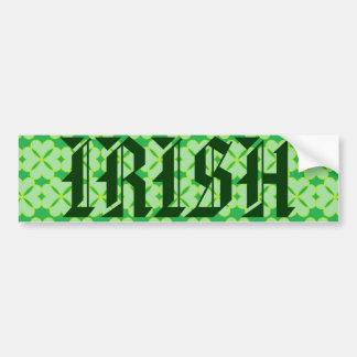 Trevo da folha de St Patrick quatro Adesivo