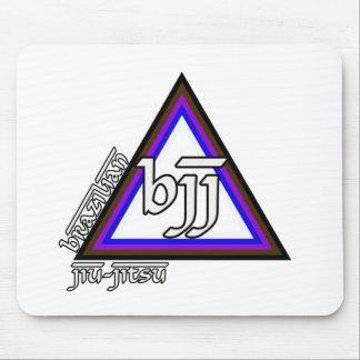 Triângulo de Jiu Jitsu BJJ do brasileiro do progre Mouse Pad