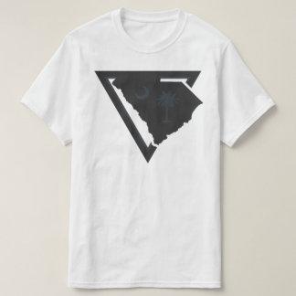 triângulo de South Carolina Camisetas