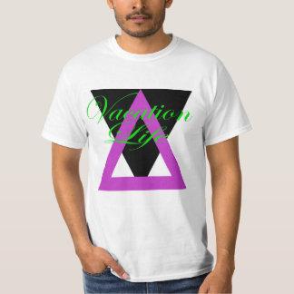 Triângulos das férias t-shirt
