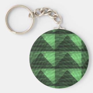 Triângulos Deco LOWPRICES da PIRÂMIDE do verde Chaveiros