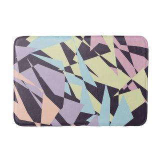 triângulos geométricos do bloco elegante da cor tapete de banheiro