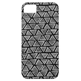 Triângulos monocromáticos capas para iPhone 5