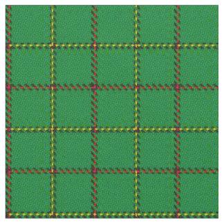 Tribo de tecido escocês da xadrez de Tartan do clã