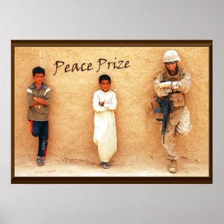 Tributo militar premiado da paz poster