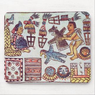 Tributos de recepção de Montezuma II Mousepad