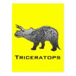 Triceratops Cartão Postal