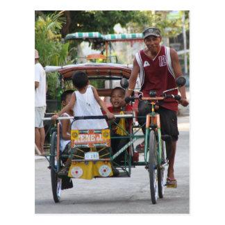 Triciclo Cartão Postal